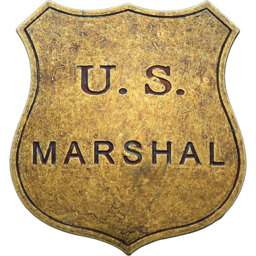 US Marshal Replica Badge