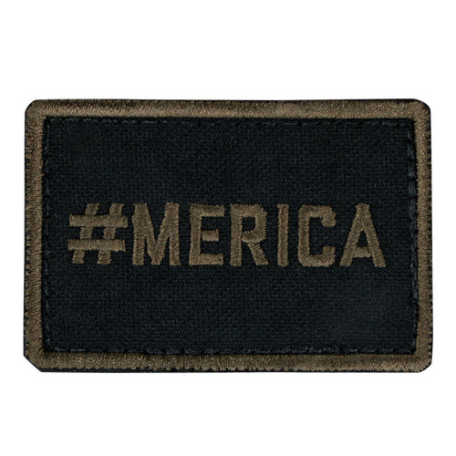 #MERICA PATCH (6PCS/PACK) -Coyote Brown