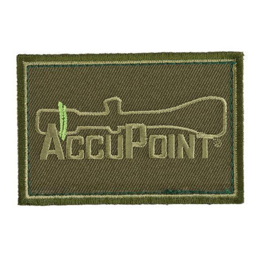 """Trijicon """"Accupoint"""" Hook and Loop Morale Patch - Olive"""