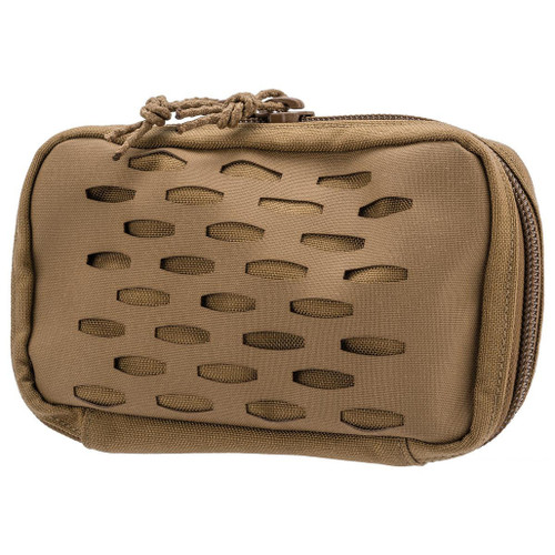 Sentry Staggered Column Electronics Pouch (Color: Coyote Brown)