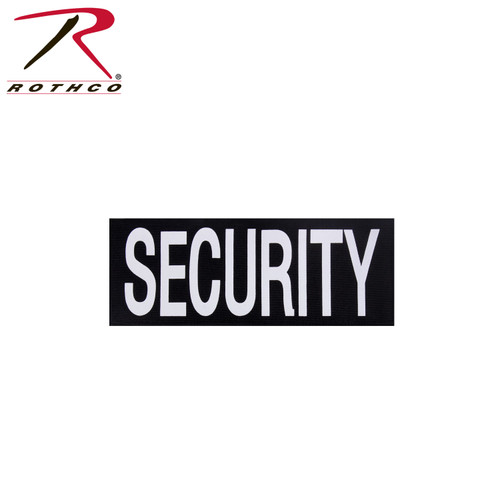 """Rothco Security Patch With Hook Back - 4"""" X 10 ¾"""""""