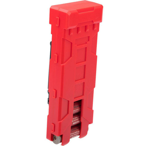JAG Arms 10 Round MOLLE Polymer Shotgun Shell Carrier (Color: Red)