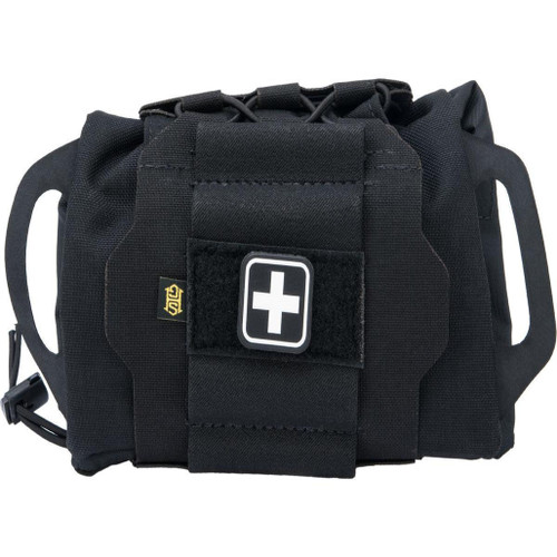 HSGI Reflex IFAK Pouch Kit w/ Roll and Carrier (Color: Black)
