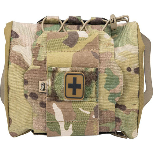 HSGI Reflex IFAK Pouch Kit w/ Roll and Carrier (Color: Multicam)