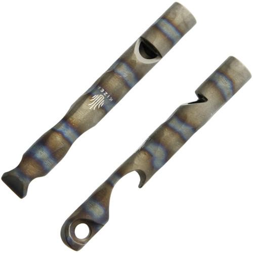 Siren 1 Titanium Whistle Flame