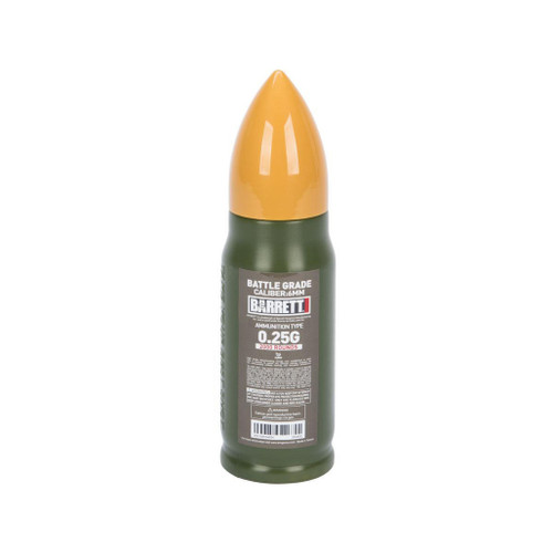 6mmProShop Barrett Licensed Match Grade 6mm Airsoft BBs (Type: 0.25g / 2000rd)