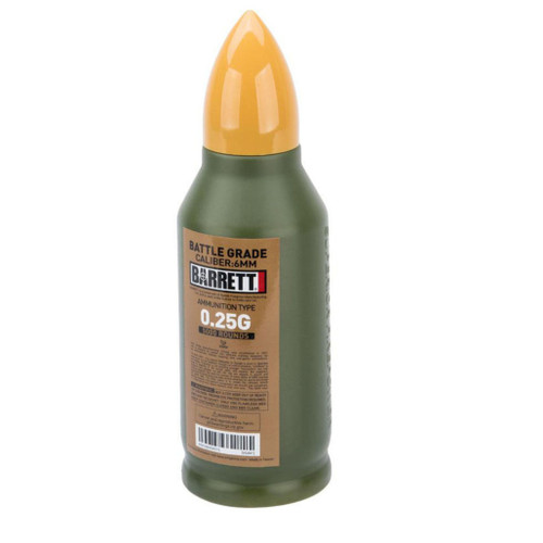 6mmProShop Barrett Licensed Match Grade 6mm Airsoft BBs (Type: 0.25g / 5000rd)