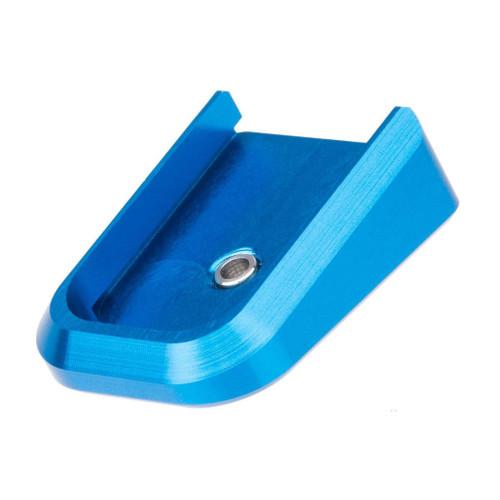 Airsoft Masterpiece Aluminum Magazine Base Plate for TM Hi-Capa Pistols (Color: Blue)