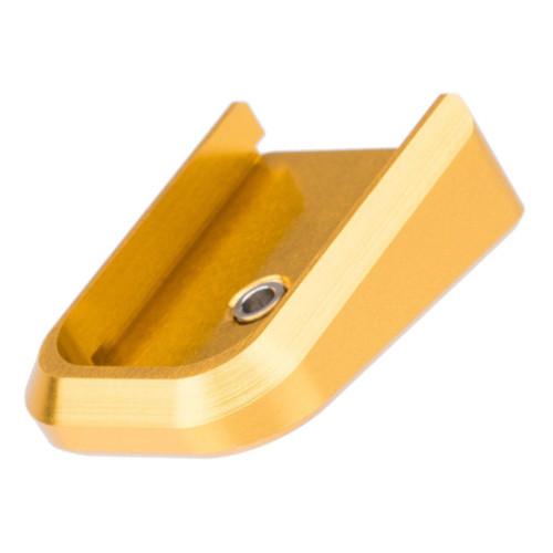 Airsoft Masterpiece Aluminum Magazine Base Plate for TM Hi-Capa Pistols (Color: Gold)