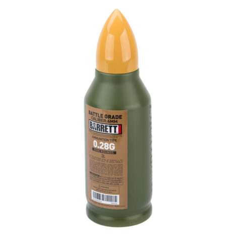 6mmProShop Barrett Licensed Match Grade 6mm Airsoft BBs (Type: 0.28g / 5000rd)