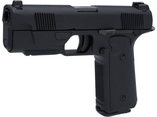 EMG / Hudson™ H9 Gas Blowback Airsoft Parallel Training Weapon (Color: Black / Green Gas)