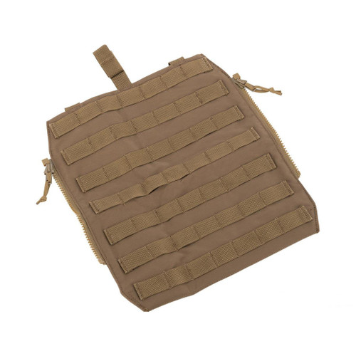 ZShot Crye Precision Licensed Replica Zip-on MOLLE Panel (Color: Coyote Brown / Large)