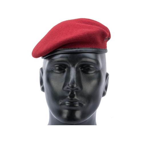 Militaire Legend French Military Beret by Laulhere (Color: Amarante / 58)
