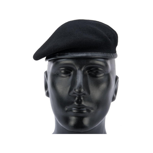 Militaire Legend French Military Beret by Laulhere (Color: Noir / 58)