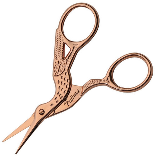 Embroidery Scissors Rose Gold