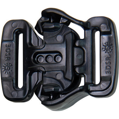 3DSR Tactical Buckle Black