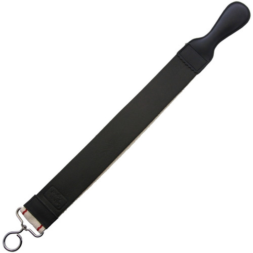 Leather Barber Strop 2in Black