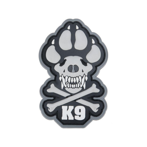 "Mil-spec Monkey ""K9"" PVC Moral Patch (Color: Urban)"