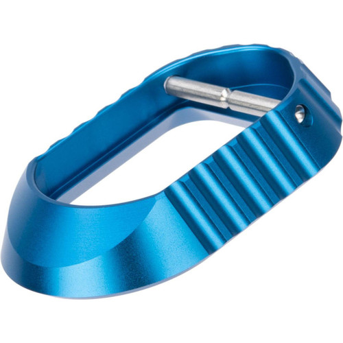 """Airsoft Masterpiece EDGE """"O2"""" Magwell for Hi-Capa Airsoft Pistols (Color: Blue)"""