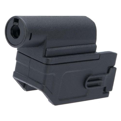 Matrix M4 to M870 AEG Magazine Adapter for Tokyo Marui Spec Airsoft Shotguns (Color: Black)