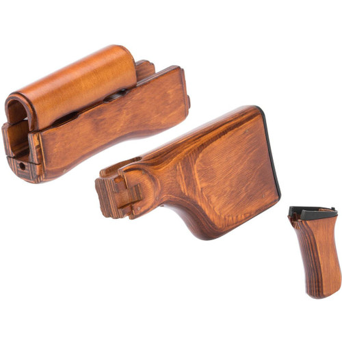LCT Airsoft Wooden Stock and Grip Set for RPKS74 Series Airsoft Rifles