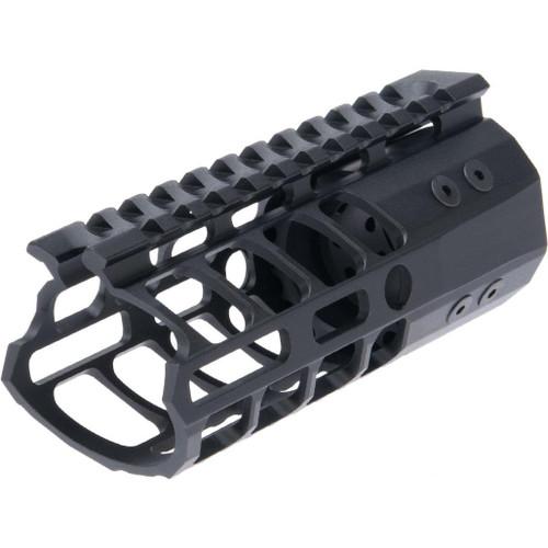 "EMG F-1 Firearms P7M AR-15 Hyper Lite RIS M-LOK Handguard (Length: 5"" / Black)"