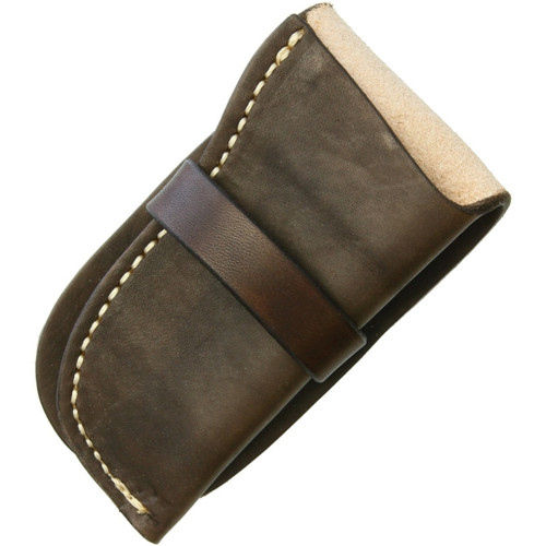 Leather Knife Pouch Large
