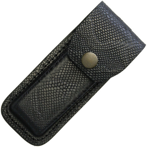 Leather Belt Sheath Snake