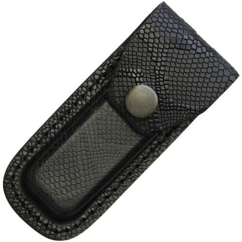 Leather Belt Pouch Snake