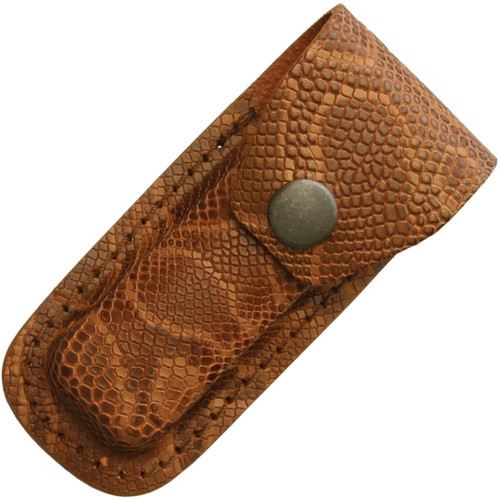 Leather Belt Pouch Brown