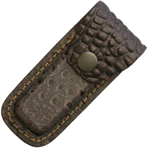 Leather Belt Pouch Brown SH1196