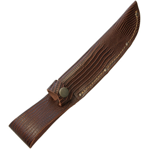 Fixed Blade Belt Sheath Lizard SH1182