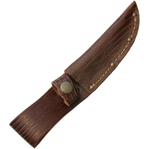 Fixed Blade Belt Sheath Lizard SH1180
