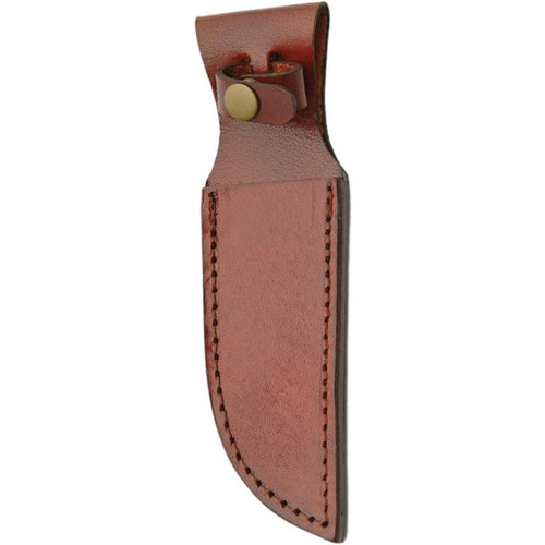 Brown Leather Sheath 5in