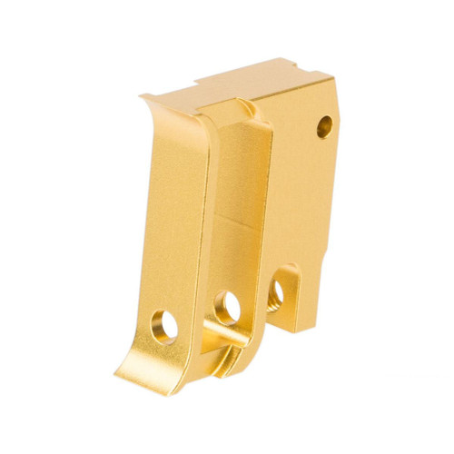 Airsoft Masterpiece EDGE Aluminum Trigger for Hi-CAPA / 1911 Gas Blowback Airsoft Pistols - Type 1 (Color: Gold)