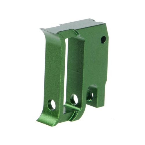 Airsoft Masterpiece EDGE Aluminum Trigger for Hi-CAPA / 1911 Gas Blowback Airsoft Pistols - Type 1 (Color: Green)