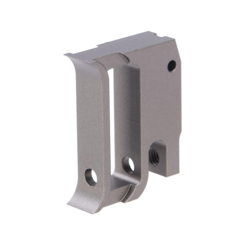 Airsoft Masterpiece EDGE Aluminum Trigger for Hi-CAPA / 1911 Gas Blowback Airsoft Pistols - Type 1 (Color: Grey)
