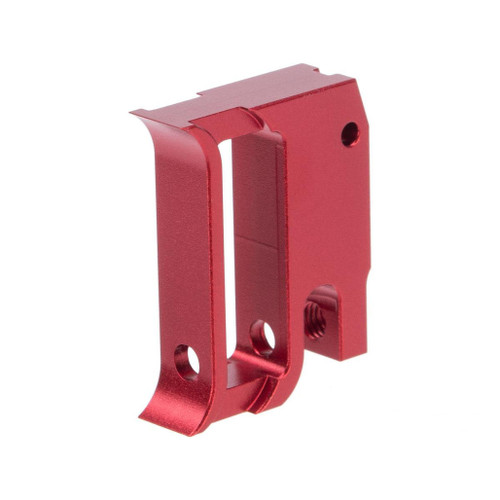 Airsoft Masterpiece EDGE Aluminum Trigger for Hi-CAPA / 1911 Gas Blowback Airsoft Pistols - Type 1 (Color: Red)