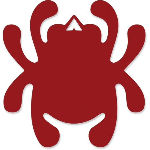 Mirror Bug Decal Red