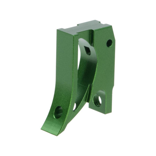 Airsoft Masterpiece EDGE Aluminum Trigger for Hi-CAPA / 1911 Gas Blowback Airsoft Pistols - Type 2 (Color: Green)