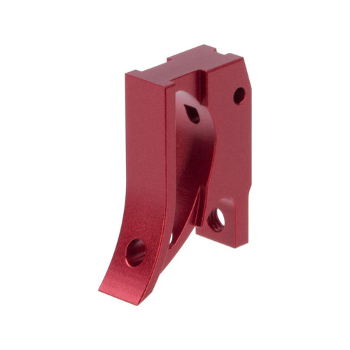 Airsoft Masterpiece EDGE Aluminum Trigger for Hi-CAPA / 1911 Gas Blowback Airsoft Pistols - Type 2 (Color: Red)