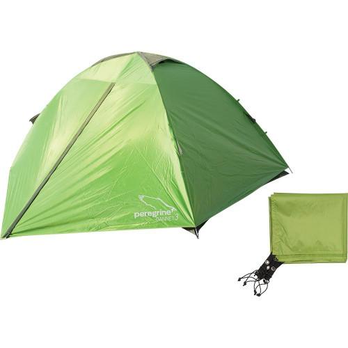 Peregrine Outdoor Gannet 3 Person Tent & Footprint