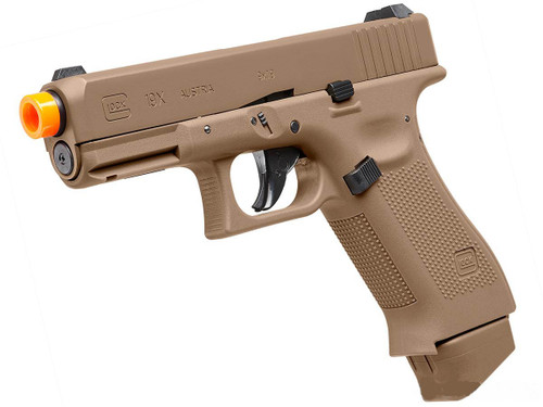 Elite Force Fully Licensed GLOCK 19X Gas Half-Blowback CO2 Airsoft Pistol (Color: Tan)