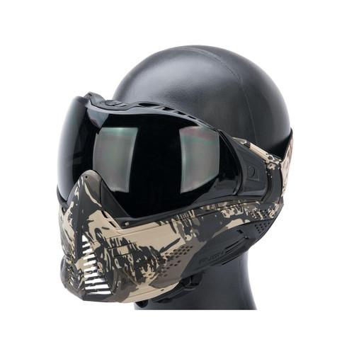 Valken Push Unite Goggles for Airsoft / Paintball (Model: AU / Tan Camo)