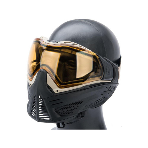 Valken Push Unite Goggles for Airsoft / Paintball (Model: Classic / Black & Tan)