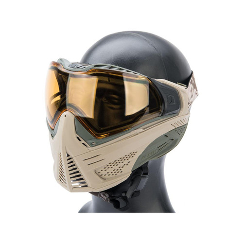 Valken Push Unite Goggles for Airsoft / Paintball (Model: Classic / Tan & Olive)