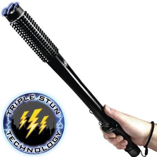 """Streetwise™ Barbarian 19"""" LED Stun Gun Baton 9m"""