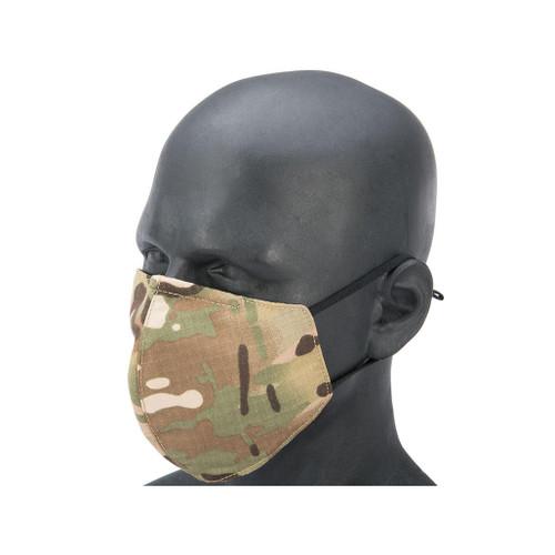 Matrix Knight Reusable Face Mask Sleeve for N95 Face Masks (Color: Multicam)
