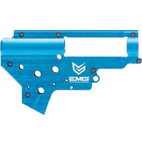 EMG x Retro Arms CZ Billet CNC 8mm Ver.2 Gearbox Shell for M4 / M16 Series Airsoft AEG Rifles (Color: EMG Blue)