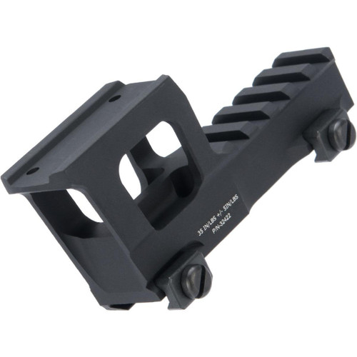 Zshot Knight's Armament Licensed High Rise Mount for T1/T2 Airsoft Red Dot Optics
